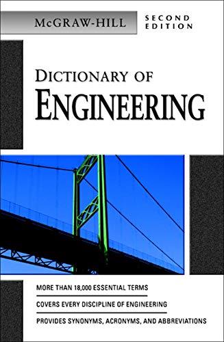 9780071410502: Dictionary of Engineering