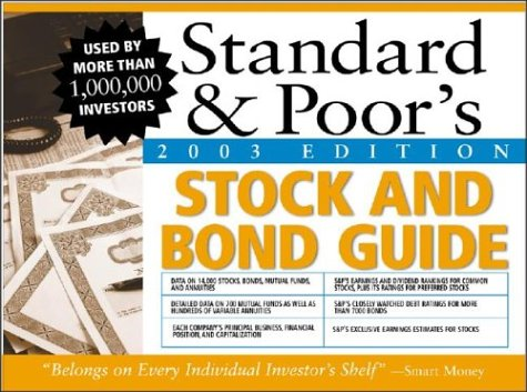 9780071410656: Standard & Poor's Stock & Bond Guide, 2003 Edition