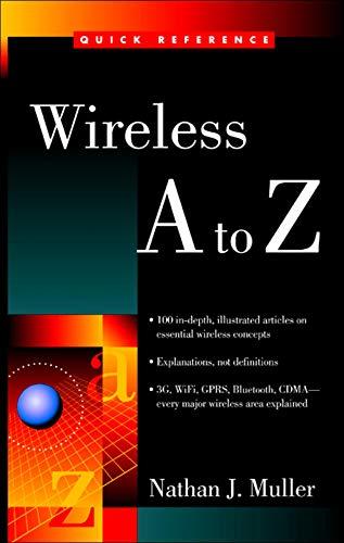 9780071410885: Wireless A to Z