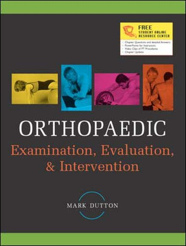9780071410892: Orthopaedic Examination, Evaluation, and Intervention