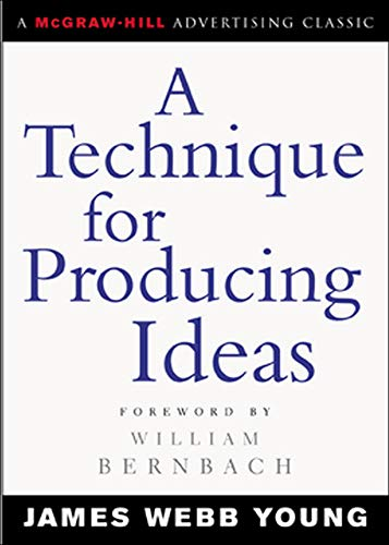 9780071410946: A Technique for Producing Ideas