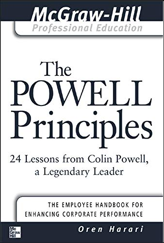 9780071411097: The Powell Principles: 24 Lessons from Colin Powell, A Legendary Leader (The McGraw-Hill Professional Education Series)