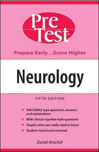 9780071411387: Neurology: PreTest Self-Assessment and Review