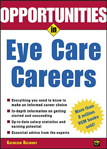 9780071411509: Opportunities in Eye Care Careers
