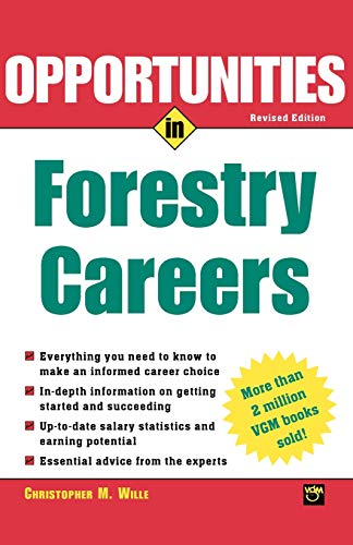 9780071411516: Opportunties in Forestry Careers