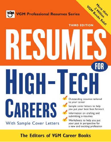 9780071411554: Resumes for High Tech Careers