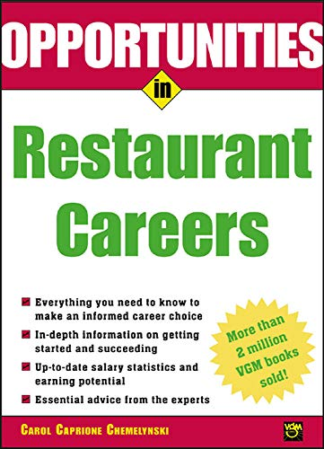 9780071411653: Opportunities in Restaurant Careers (Opportunities Inâ?¦Series)
