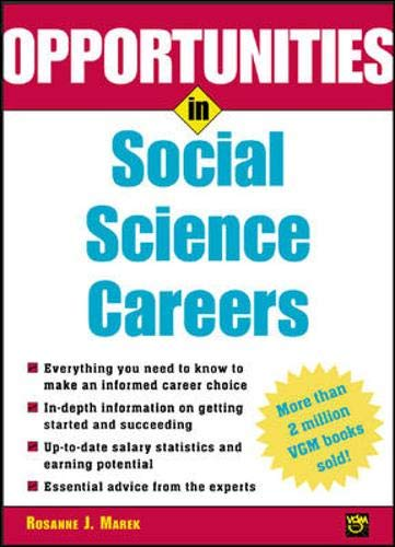 9780071411677: Opportunities in Social Science Careers (Opportunities In...Series)