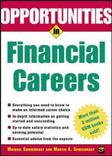 9780071411684: Opportunities in Financial Careers (Opportunities In! Series)