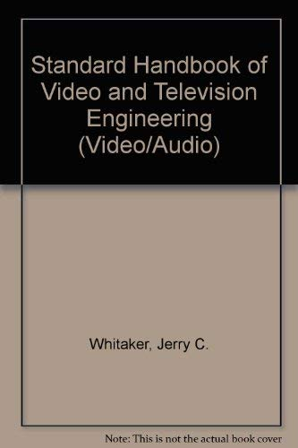 9780071411790: Standard Handbook of Video and Television Engineering (Video/Audio)