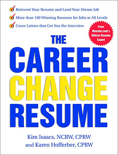 9780071411868: The Career Change Resume