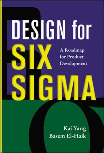 9780071412087: Design for Six Sigma : A Roadmap for Product Development