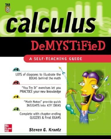 9780071412117: Calculus Demystified