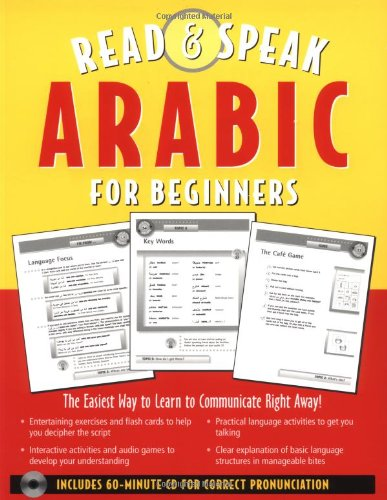 9780071412155: Read and Speak Arabic for Beginners (Book + Audio CD) (Read and Speak Languages for Beginners)
