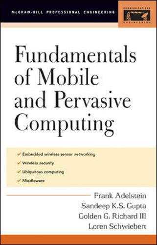 9780071412377: Fundamentals of Mobile and Pervasive Computing