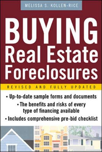 9780071412384: Buying Real Estate Foreclosures