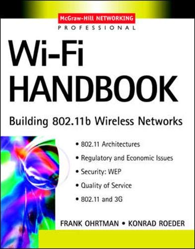 9780071412513: Wi-Fi Handbook: Building 802.11b Wireless Networks (McGraw-Hill Telecom Professional)