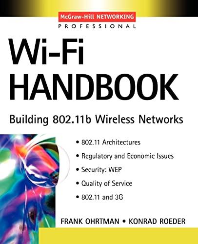 9780071412513: Wi-Fi Handbook : Building 802.11b Wireless Networks