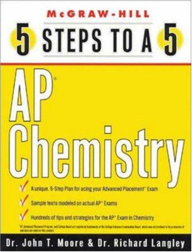 9780071412759: 5 Steps to a 5: AP Chemistry