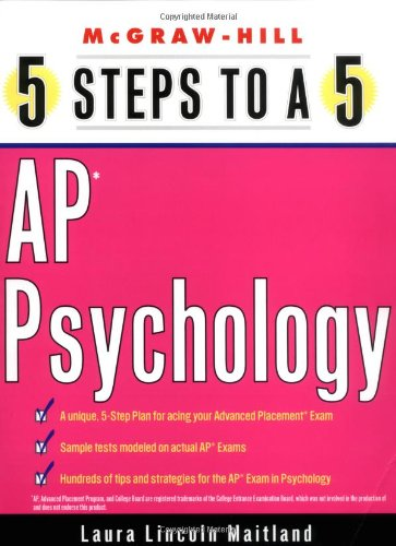 9780071412773: 5 Steps to a 5 on the AP: Psychology (5 Steps to a 5 on the Advanced Placement Examinations Series)