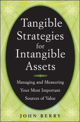 9780071412865: Tangible Strategies for Intangible Assets
