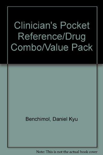 9780071412926: Clinician's Pocket Reference/Drug Combo/Value Pack