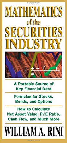 9780071413169: Mathematics of the Securities Industry