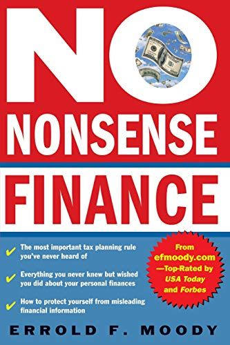 9780071413305: No-Nonsense Finance : E.F. Moody's Guide to Taking Complete Control of Your Personal Finances