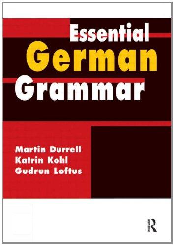 9780071413381: Essential German Grammar