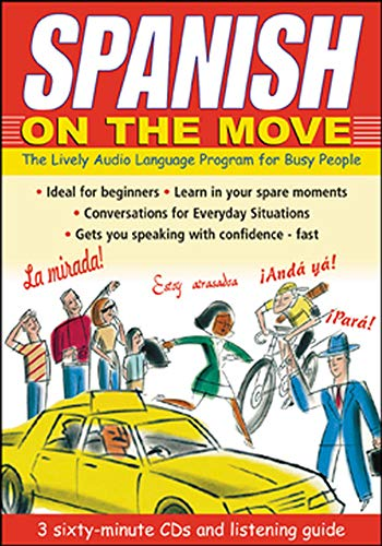 9780071413404: Spanish on the Move (3CDs + Guide)
