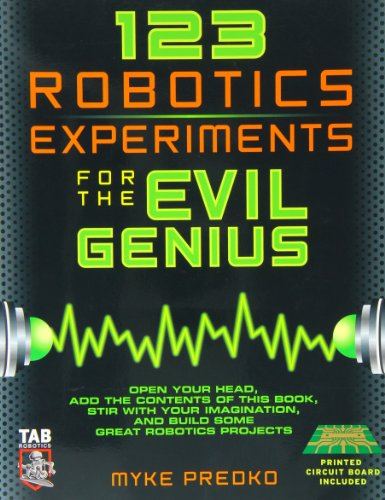 9780071413596: 123 ROBOTICS EXPERIMENTS