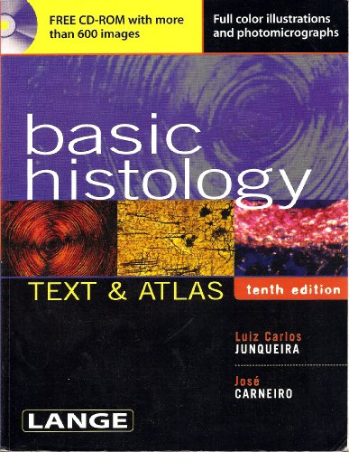 9780071413657: Basic Histology: Text & Atlas