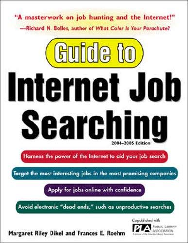 9780071413749: Guide to Internet Job Searching 2004-2005
