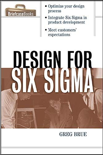9780071413763: Design for Six Sigma (Briefcase Books Series)