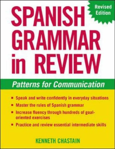 9780071414166: Spanish Grammar in Review: Patterns for Communication