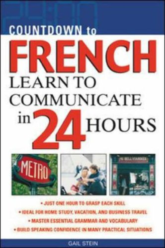 9780071414227: Countdown to French : Learn to Communicate in 24 Hours