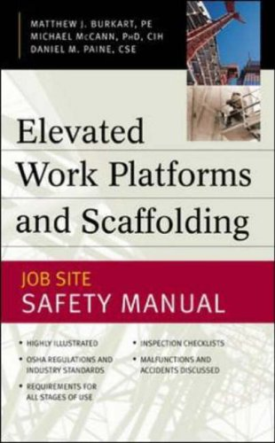 9780071414937: Elevated Work Platforms and Scaffolding: Job Site Safety Manual (Handbooks & Manuals)