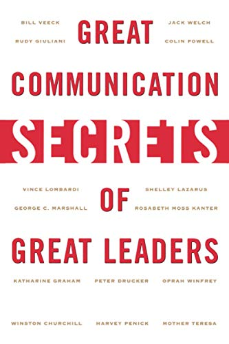 9780071414968: Great Communication Secrets of Great Leaders (Management & Leadership)