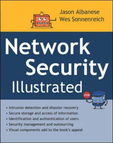 9780071415040: Network Security Illustrated