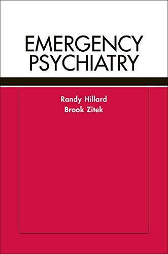 9780071415057: Emergency Psychiatry