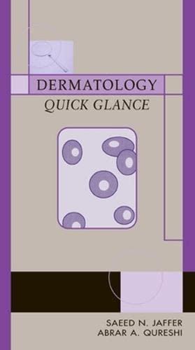 9780071415262: Dermatology Quick Glance (Lange Quick Glance)