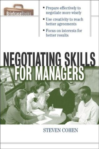 9780071415453: Negotiating Skills for Managers