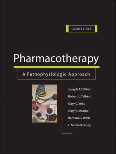 9780071416139: Pharmacotherapy