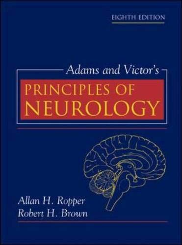9780071416207: Adams and Victor's Principles of Neurology (8th Edition)