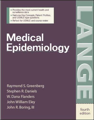 9780071416375: Medical Epidemiology (Lange Basic Science)