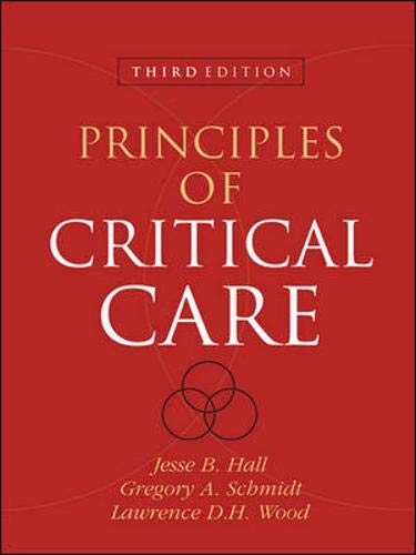 9780071416405: Principles of Critical Care, Third Edition