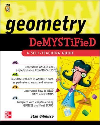 9780071416504: Geometry Demystified: A Self-teaching Guide