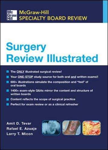 9780071416542: Surgery Review Illustrated