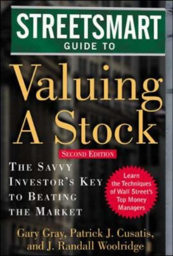 9780071416665: Streetsmart Guide to Valuing a Stock