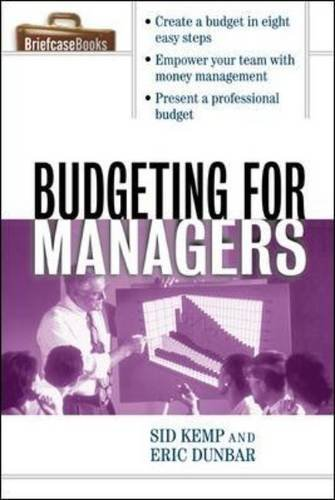 9780071416801: Budgeting for Managers